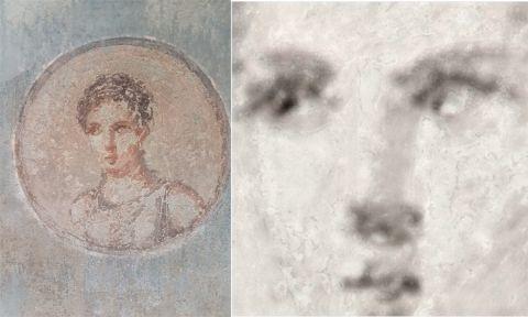 Fresk rzymski ukazujący młodą kobietę zostanie poddany renowacji