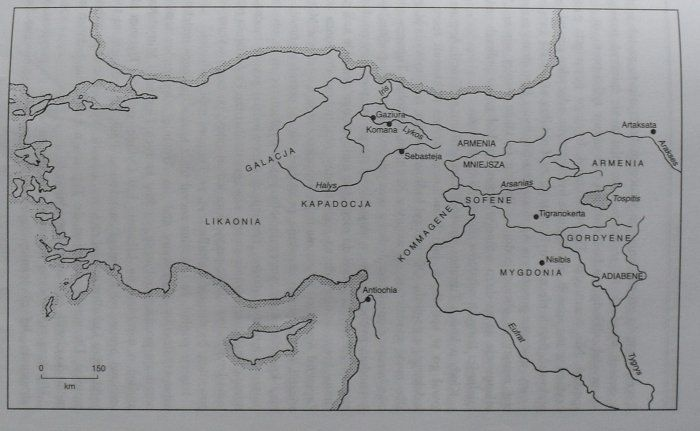 Azja Mniejsza i Armenia w czasie kampanii Lukullusa na wschodzie