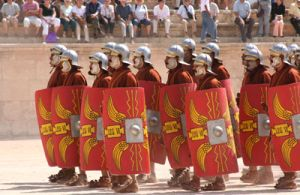 Legion was the largest tactical unit of the Roman army