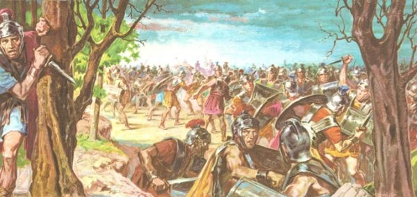 W październiku 42 roku p.n.e. doszło do bitwy pod Filippi