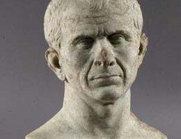 Marmurowe popiersie Cezara datowane od 49 do 46 roku p.n.e.