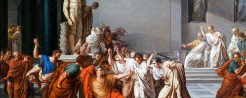 Śmierć Cezara, Vincenzo Camuccini