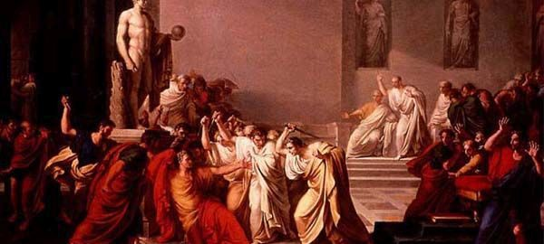 The Death of Julius Caesar, Vincenzo Camuccini