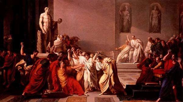 Assassination of Caesar, Vincenzo Camuccini