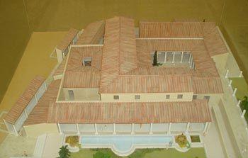 Model rzymskiego domu (domus)
