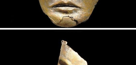 Amazing Roman parade mask