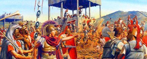 Bitwa pod Filippi w roku 42 p.n.e.