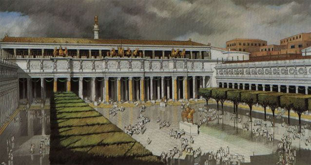 Reconstruction of the Trajan Forum