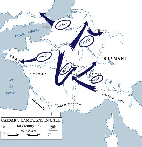 Podbój Galii przez Juliusza Cezara