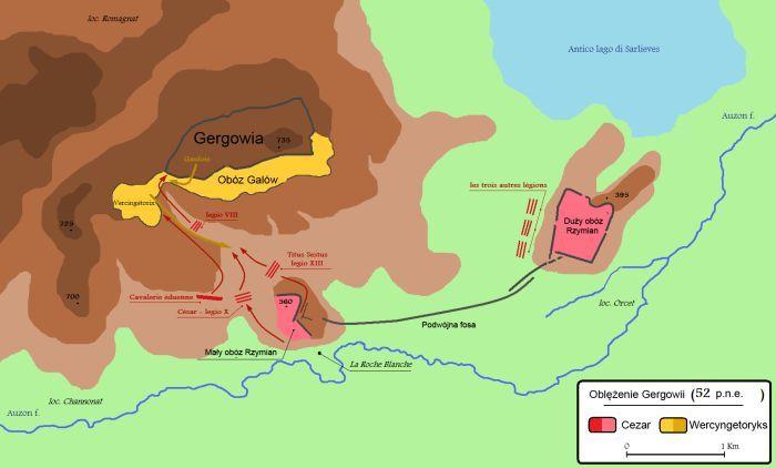 Gergowia - mapa