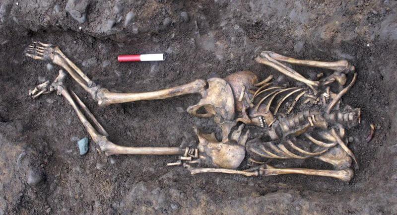 Wiele odnalezionych szkieletów było pozbawionych głowy
