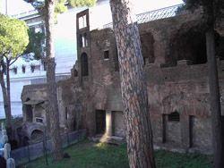 Pozostałości insuli na rzymskim Kapitolu