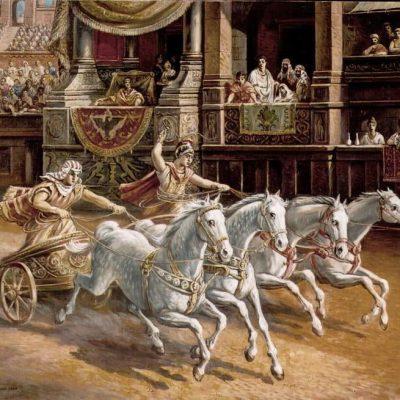 W czasie Ludi Romani miały miejsce wyścigi rydwanów