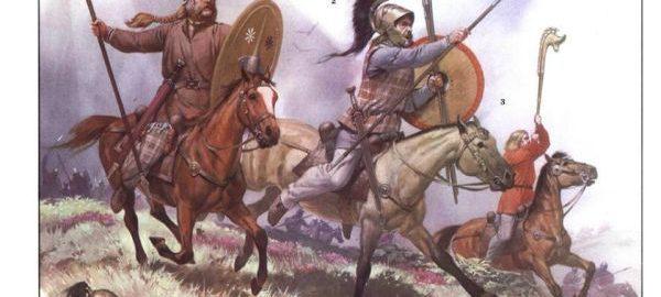 Jeźdźcy galijscy z I wieku p.n.e.