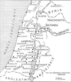 Judea, jeszcze za panowania Heroda Wielkiego