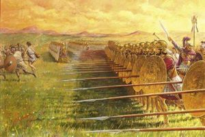 The Carthaginian infantry was armed as the Greek hoplites