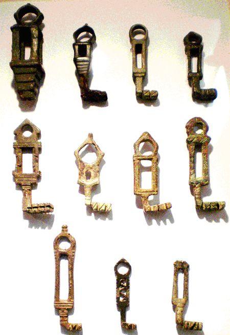 Przykłady kluczy rzymskich