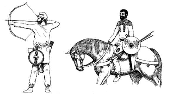 Lekkozbrojny jeździec