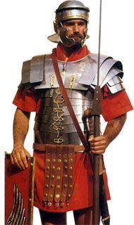 Legionista w rzymskiej armii