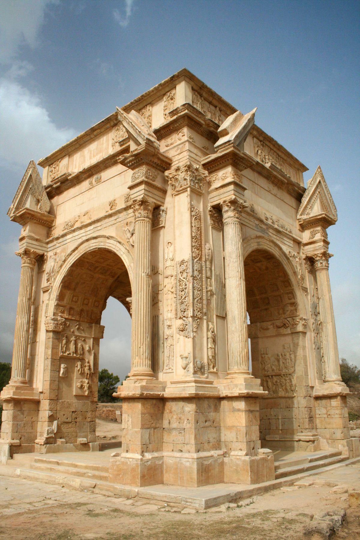 Łuk Sepymiusza Sewera w Leptis Magna