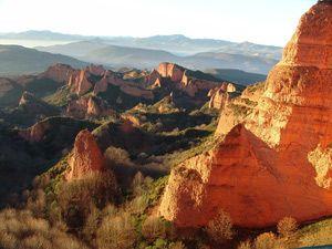 Krajobraz Las Médulas