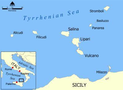Morze Tyrreńskie, przy Sycylii