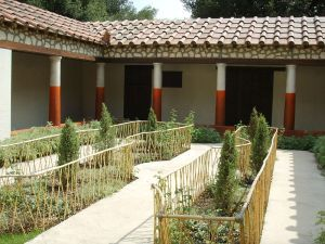 Rekonstrukcja ogrodu w Pompejach
