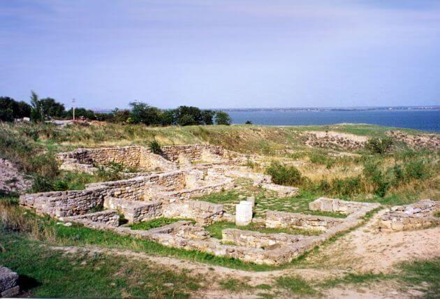 Ruiny dawnej Olbii