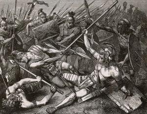 Umierający Spartakus