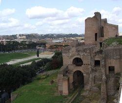 Fragment kompleksu Pałacu Flawiuszów