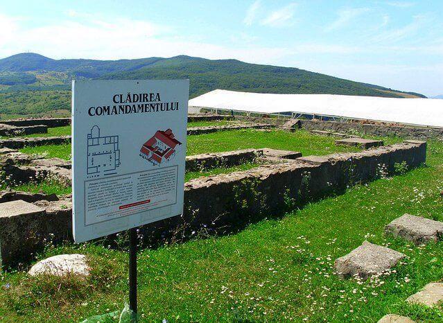 Ruiny w Porolissium