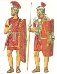 Pretorianin i legionista