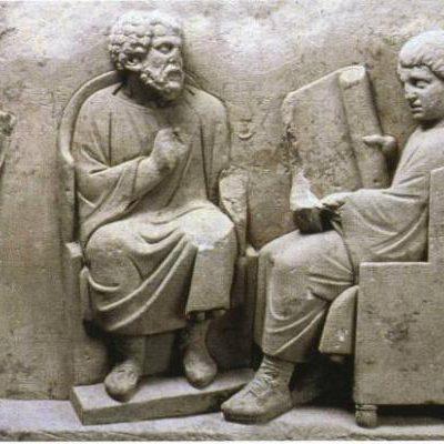 Nauka dzieci rzymskich