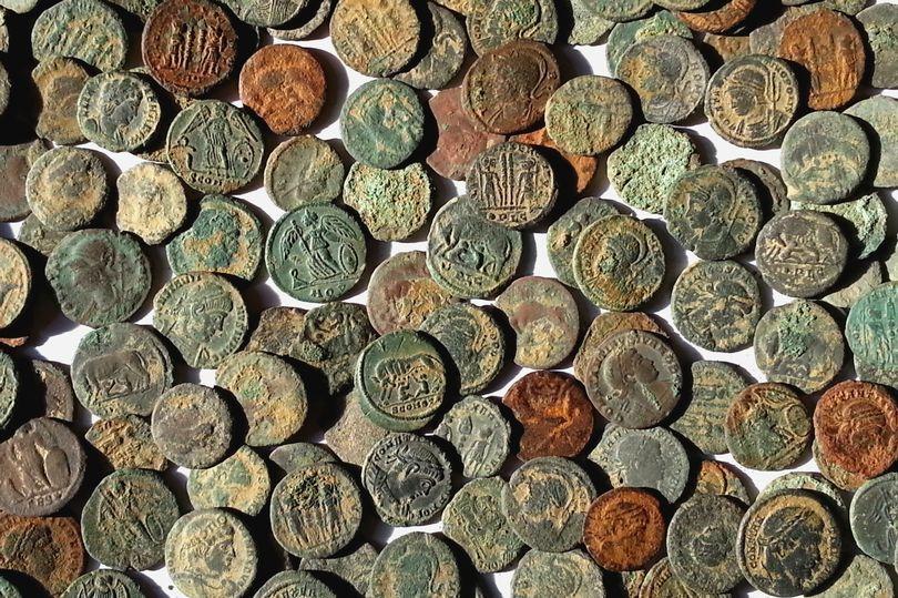 W Lincolnshire odkryto 281 monet rzymskich