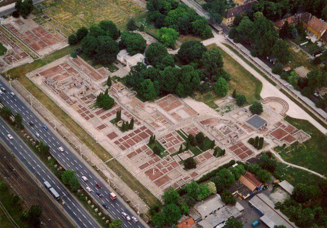 Ruiny rzymskie w dzisiejszym Budapeszcie (Aquincium)