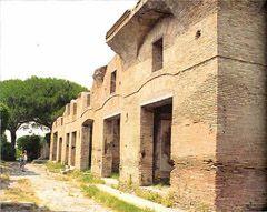 Typowa kamienica rzymska (<em>insula</em>)