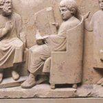 Nauczyciel i rzymski uczeń