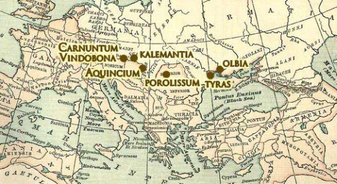 Miasta rzymskie znajdujące się najbliżej granic Polski