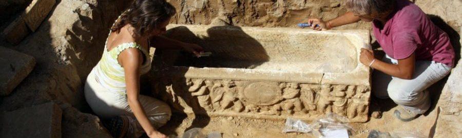 Przy Stadio Olimpico odkryto rzymskie sarkofagi