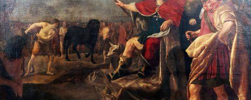 Sertorius depicted in a painting by Gerard van der Kuijl