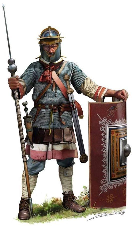 Legionista rzymski okresu panowania Septymiusza Sewera