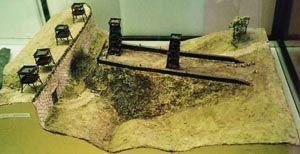Rampa wybudowana przez rzymskich legionistów pod Avaricum