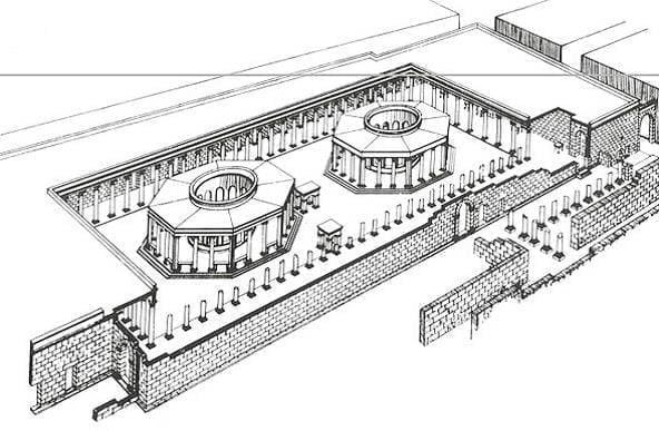 Macellum w Leptis Magna
