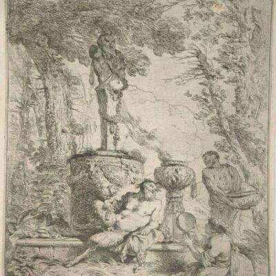 Feast Before the Altar of the God Terminus, Giovanni Benedetto Castiglione