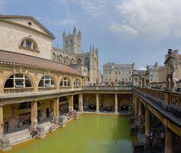 Łaźnie rzymskie w Bath w Anglii