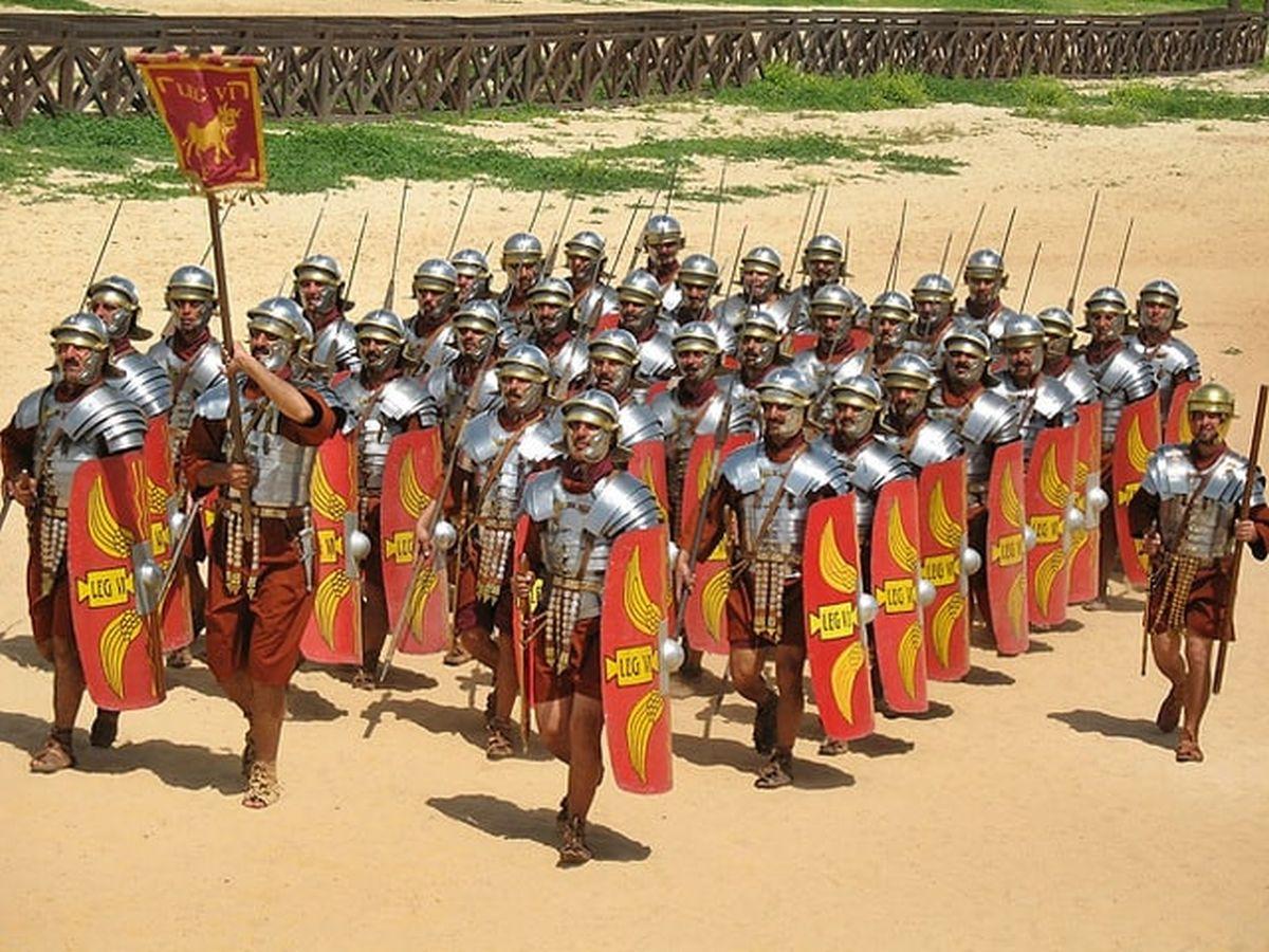 Marsz armii rzymskiej