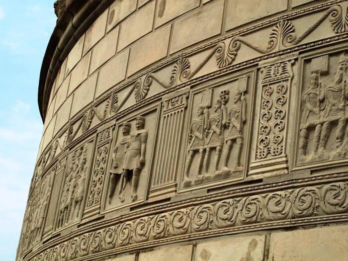 Metopy na monumencie Trajana