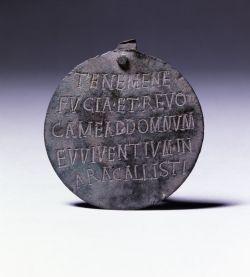 Roman dog medallion