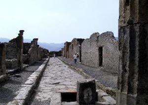 Droga w Pompejach