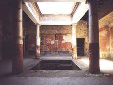 Atrium domu rzymskiego